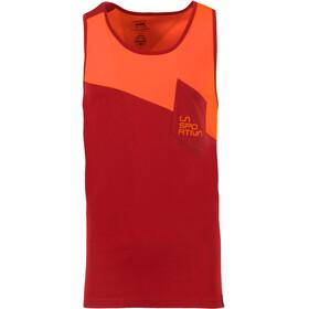 La Sportiva Dude - Haut sans manches Homme - orange/rouge